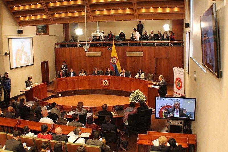 Corte Constitucional de Colombia foto Avilajuan