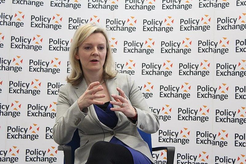 Liz Truss, ministra de Igualdad del Reino Unido.