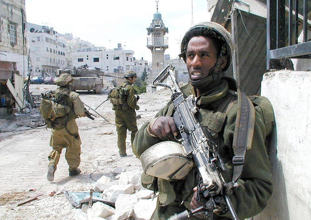 Israel Defense Forces - Standing Guard inNablus