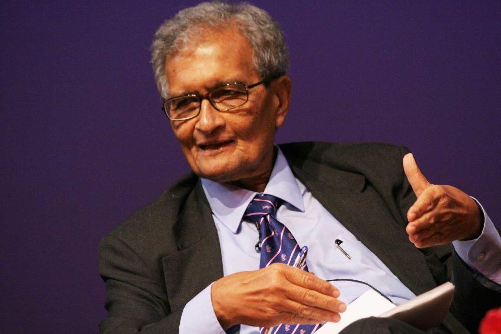 Amartya Sen. CC: Suzanna Finley /Asia Society