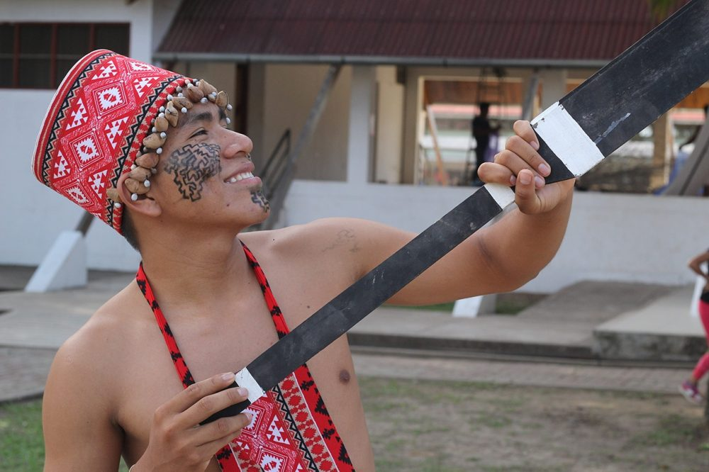 Un habitante de la Amazonia peruana