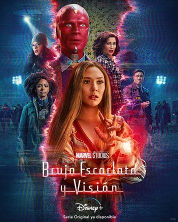 Bruja Escarlata y Visión