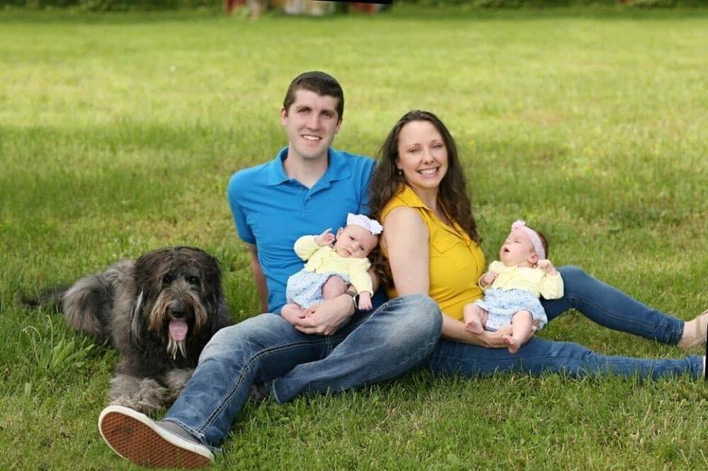 Deanna Lynn Spangler y su familia. Foto cortesía de la entrevistada