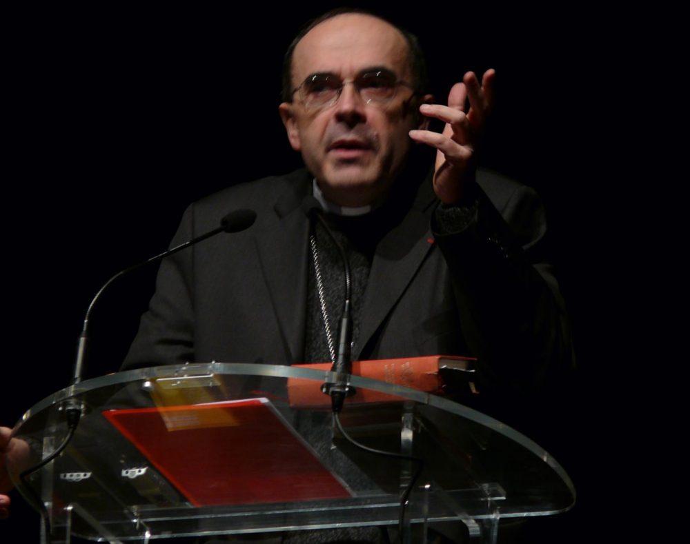 El Card. Philippe Barbarin en 2012 (Foto Peter Potrowl)