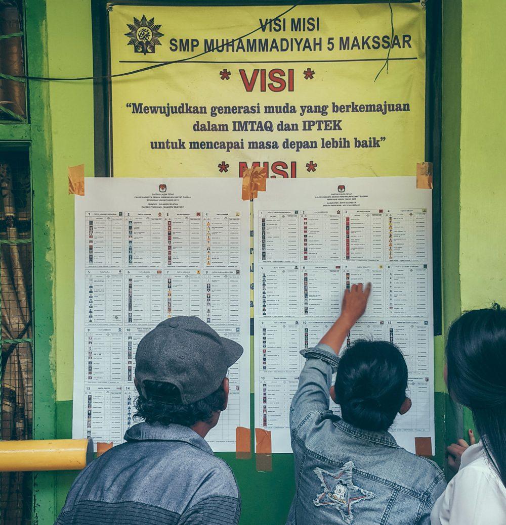 Elecciones en Indonesia (foto: Rio Lecatompessy)