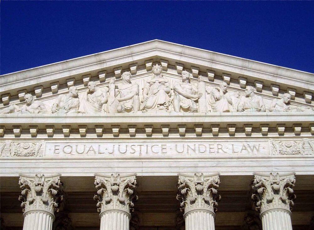 Frontispicio del Tribunal Supremo de EE.UU. (CC Matt Wade) (2)