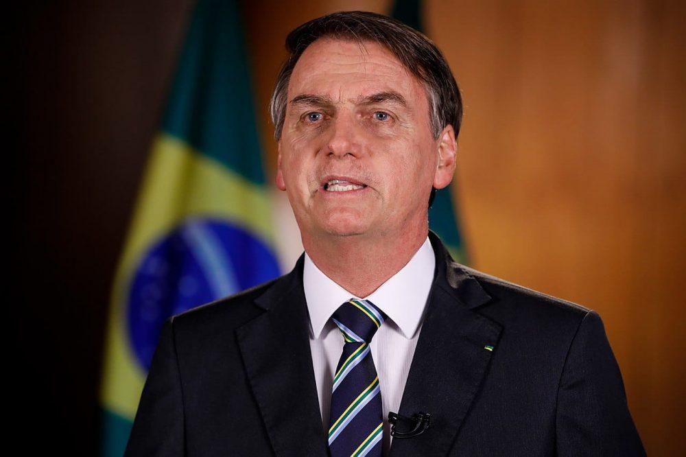 (Brasília - DF, 30/04/2019) Gravação do pronunciamento do Presidente da República, Jair Bolsonaro para o Dia do Trabalhador..Foto: Alan Santos/PR