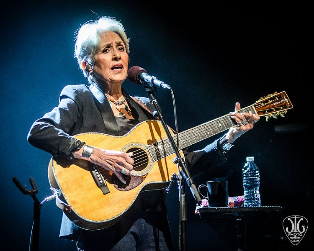 Joan Baez at The Egg (Albany,NY), March 2016