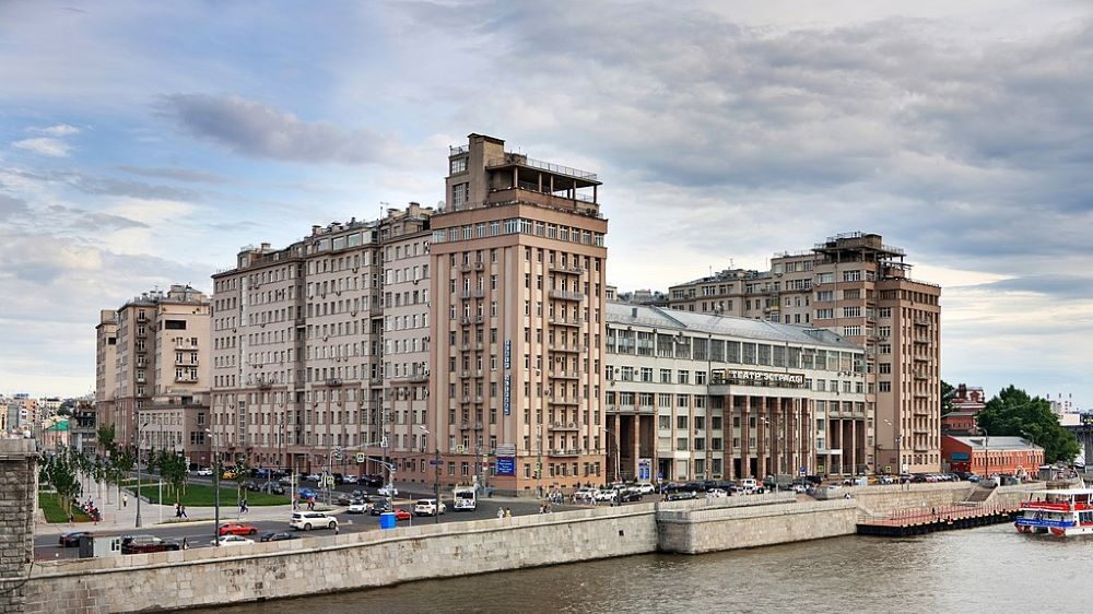 La Casa del Gobierno, en Moscú. CC: Ludwig14