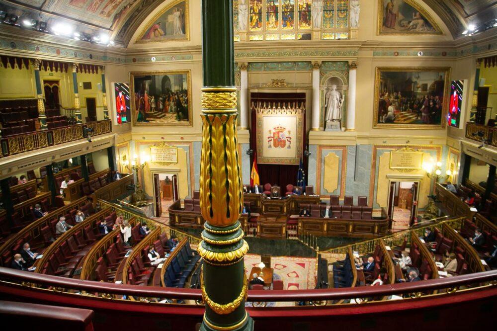 La sesión del Congreso en que se aprobó la LOMLOE (Foto Congreso de los Diputados)