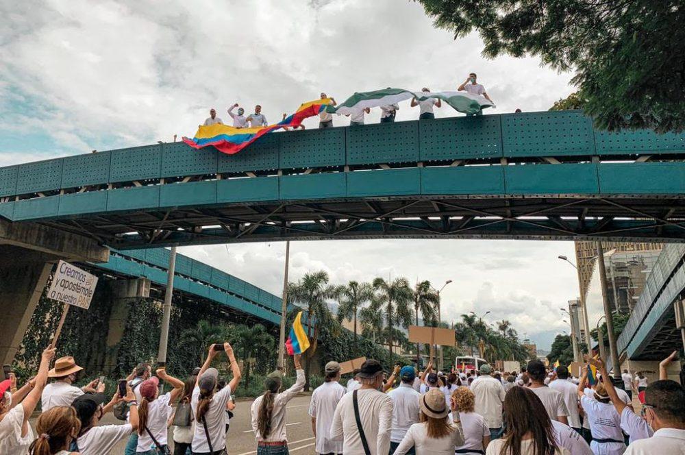 Marcha del Silencio el 30 de mayo de 2021 en Medellín