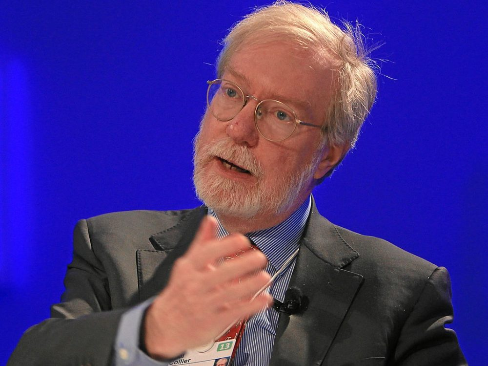 Paul Collier (Foto World Economic Forum)