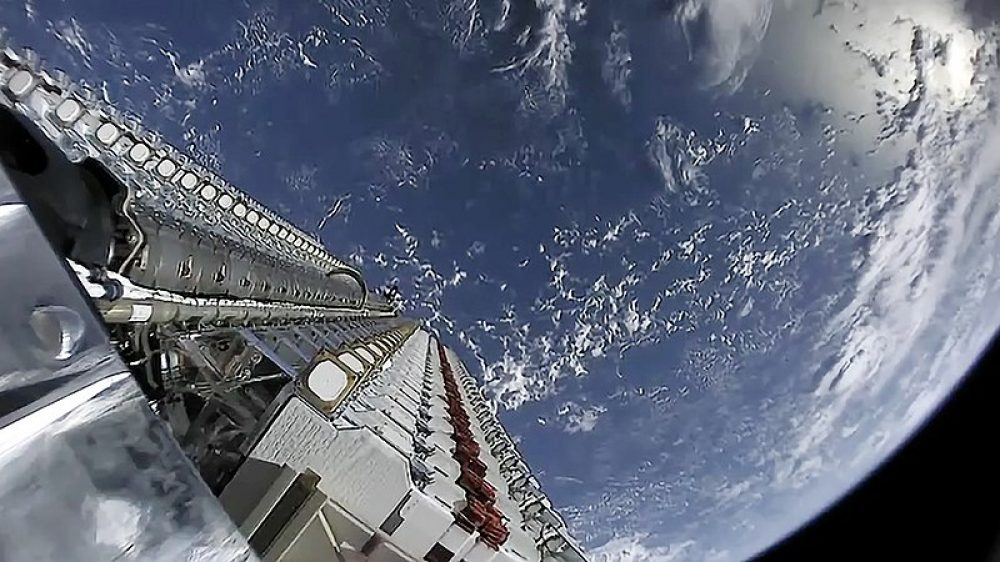 Satelite de Starlink foto Starlink Mission