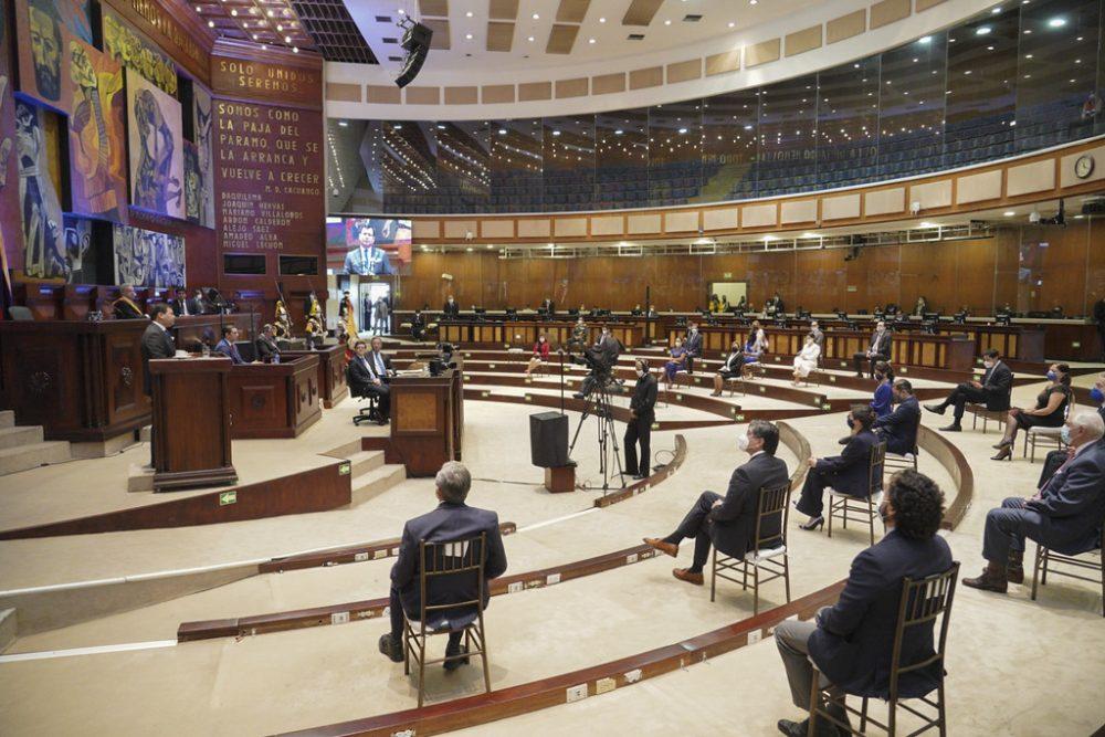 Sesión del Parlamento ecuatoriano, 24-05-2020 (CC Asamblea Nacional del Ecuador) (1)