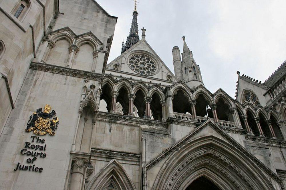 El Tribunal de Apelaciones de Inglaterra y Gales, en Londres (CC Mike Peel)