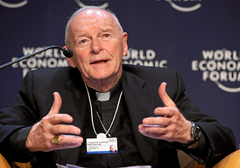 Theodore McCarrick en el Foro Económico Mundial, 2018 (CC World Economic Forum)