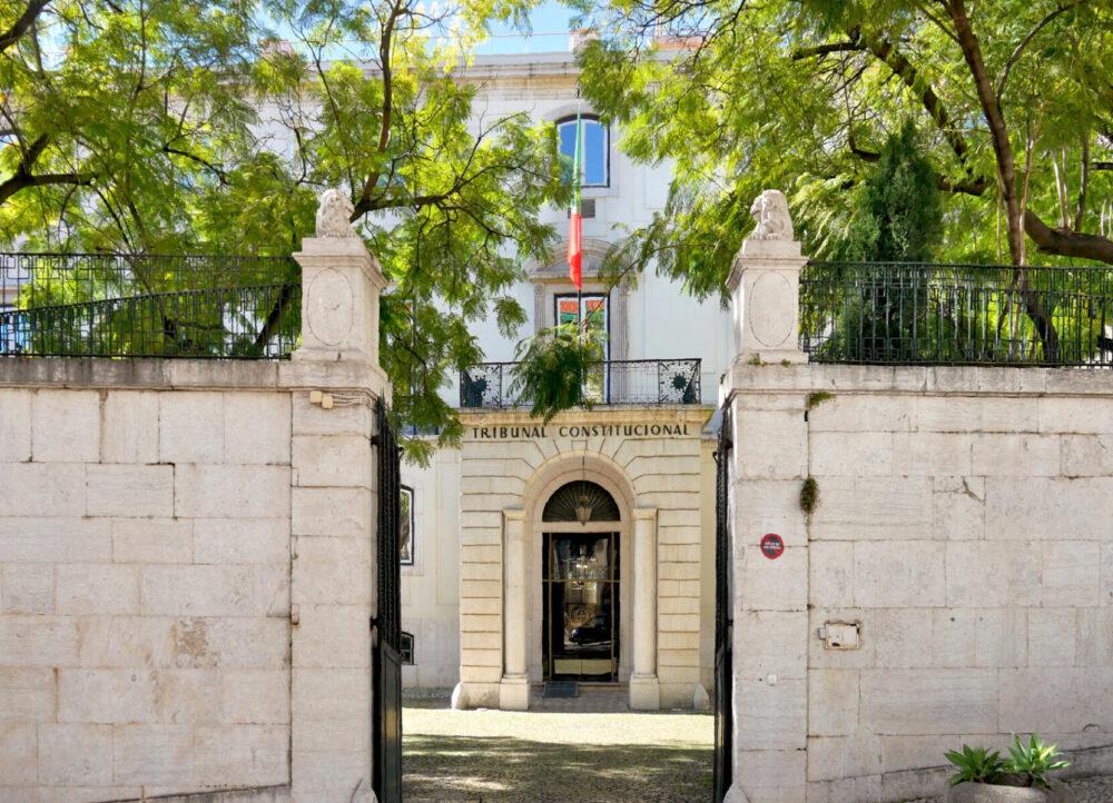 Sede del Tribunal Constitucional de Portugal, en el Palacio Ratton (Lisboa)