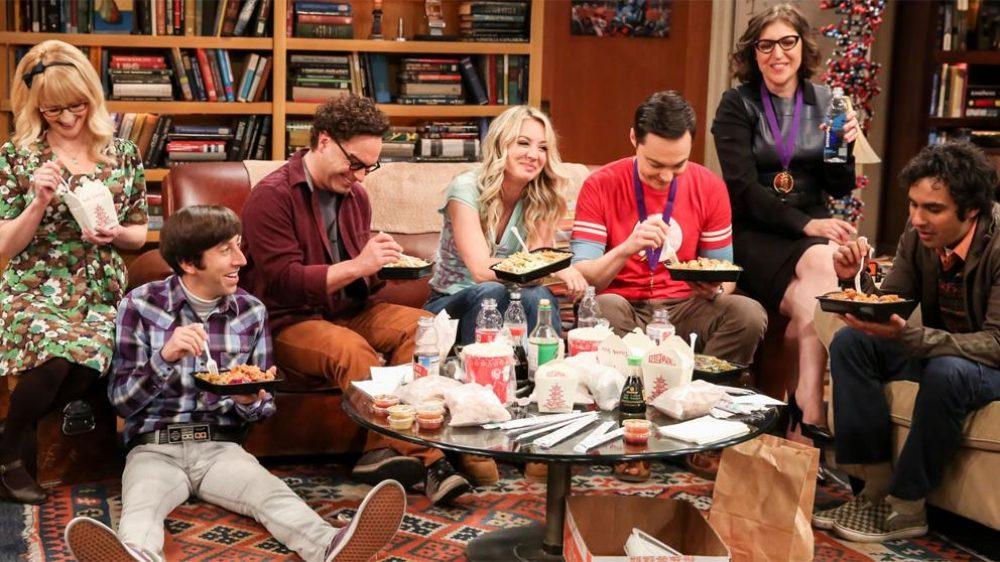 """Una imagen del último capítulo de """"The Big Bang Theory"""""""