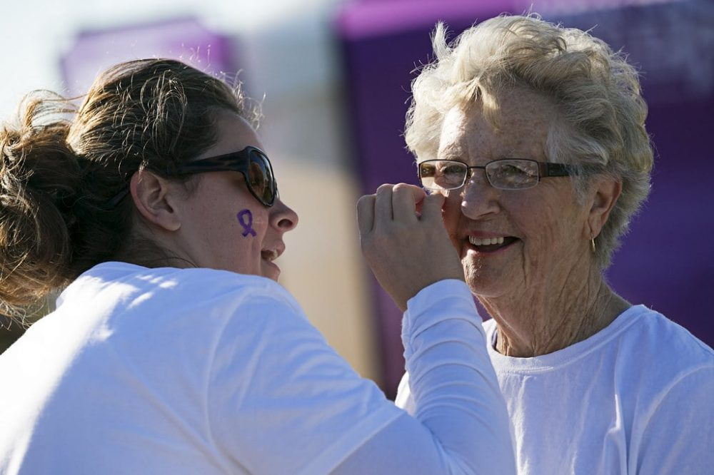 Alzheimer's Walk at Southwinds Park Saturday, Sept. 21, 2013.