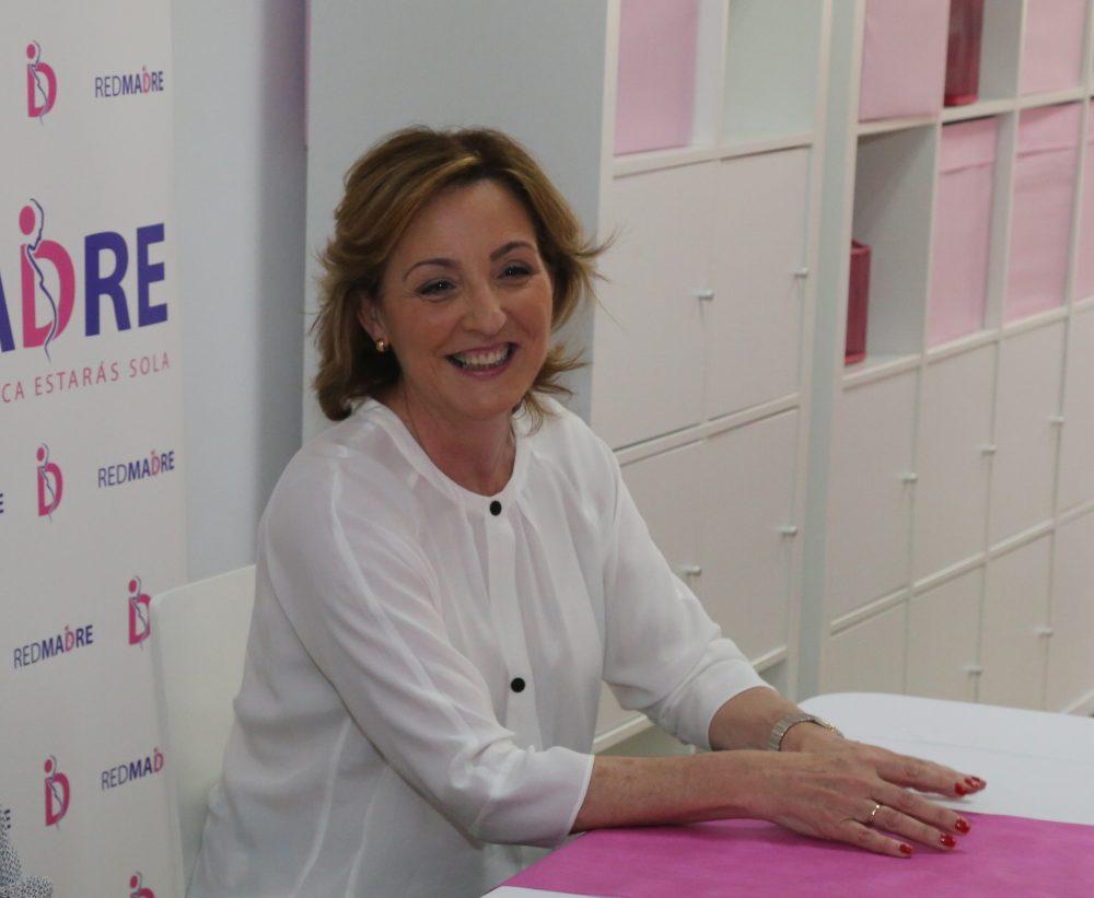Amaya Azcona, directora general de la Fundación RedMadre