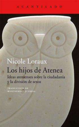 cubierta-del-libro-los-hijos-de-atenea-nicole-loraux-editorial-acantilado