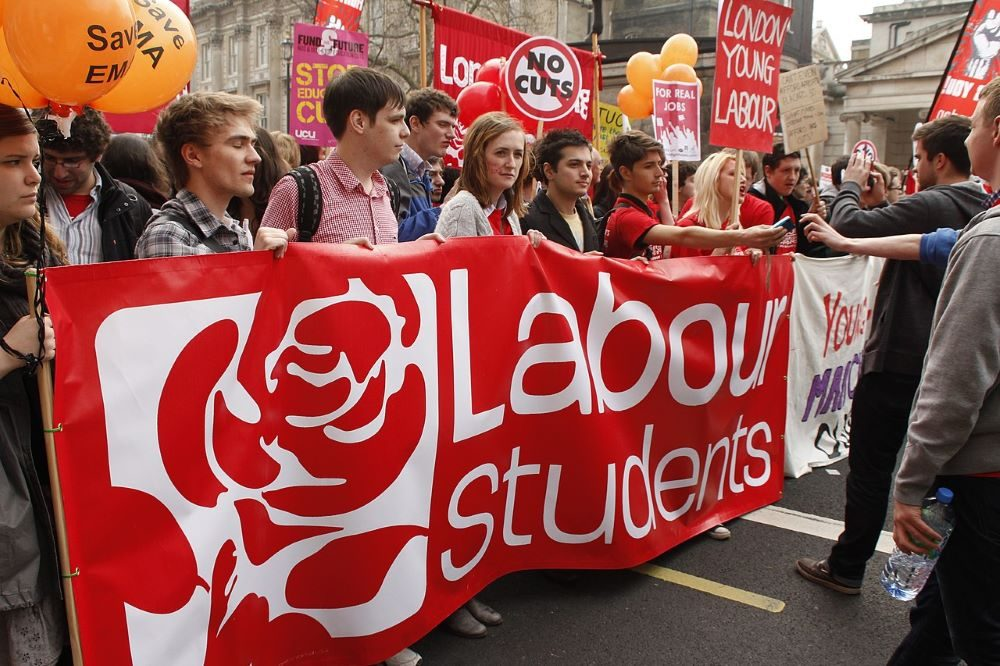 jóvenes laboristas CC Weldon Kennedy
