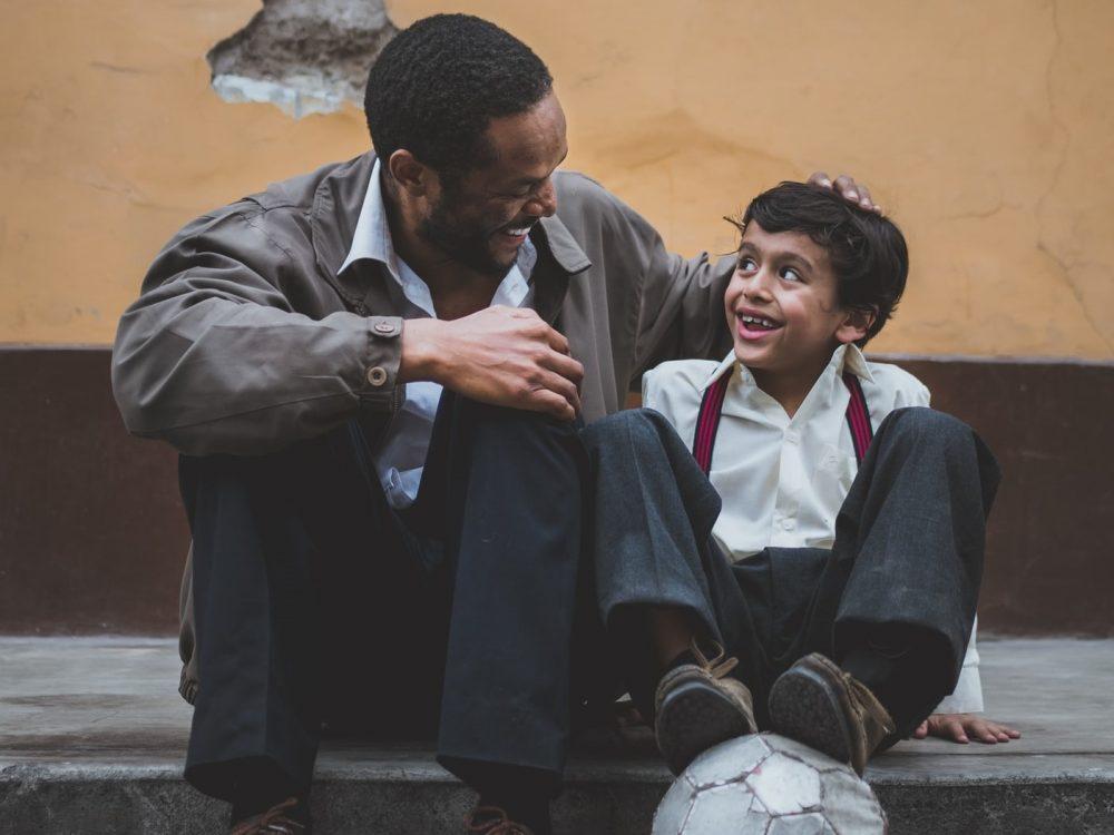 padre e hijo foto Sebastián León
