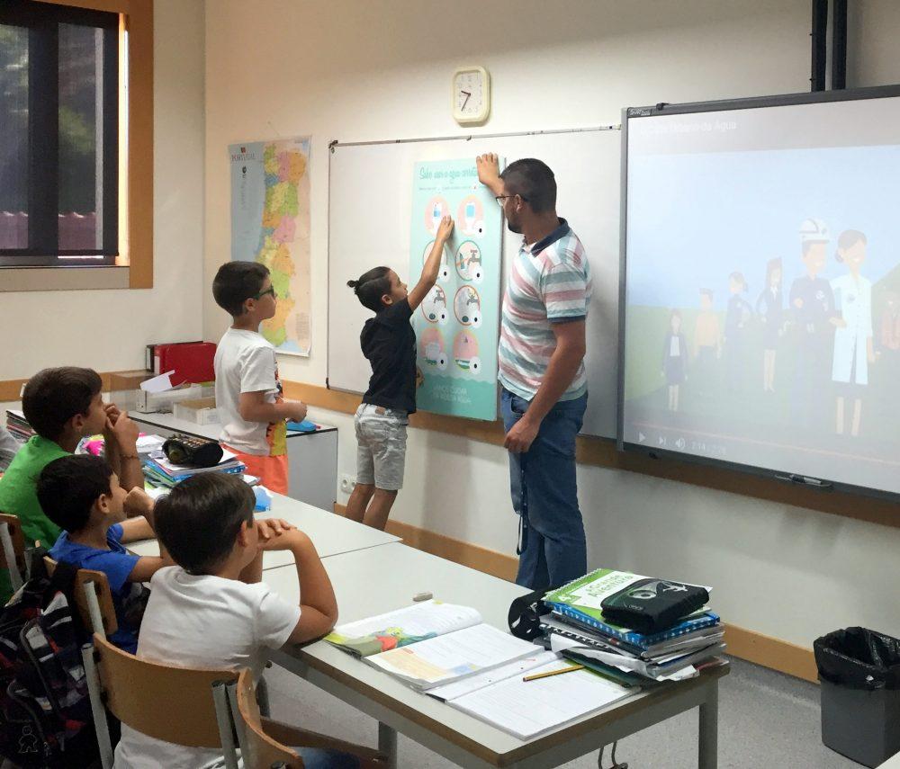 Escuela de Primaria en Portugal