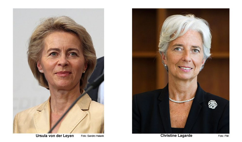 Ursula von der Leyen (foto: Sandro Halank), Christine Lagarde (Foto: FMI)